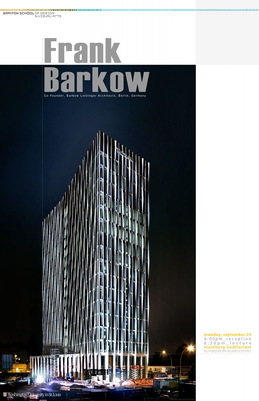 Frank Barkow: Work report
