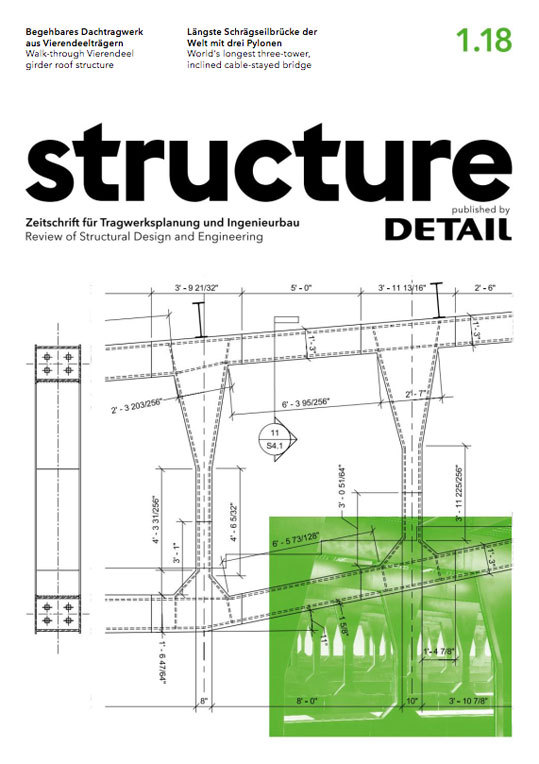 structure – published by DETAIL, January 2018