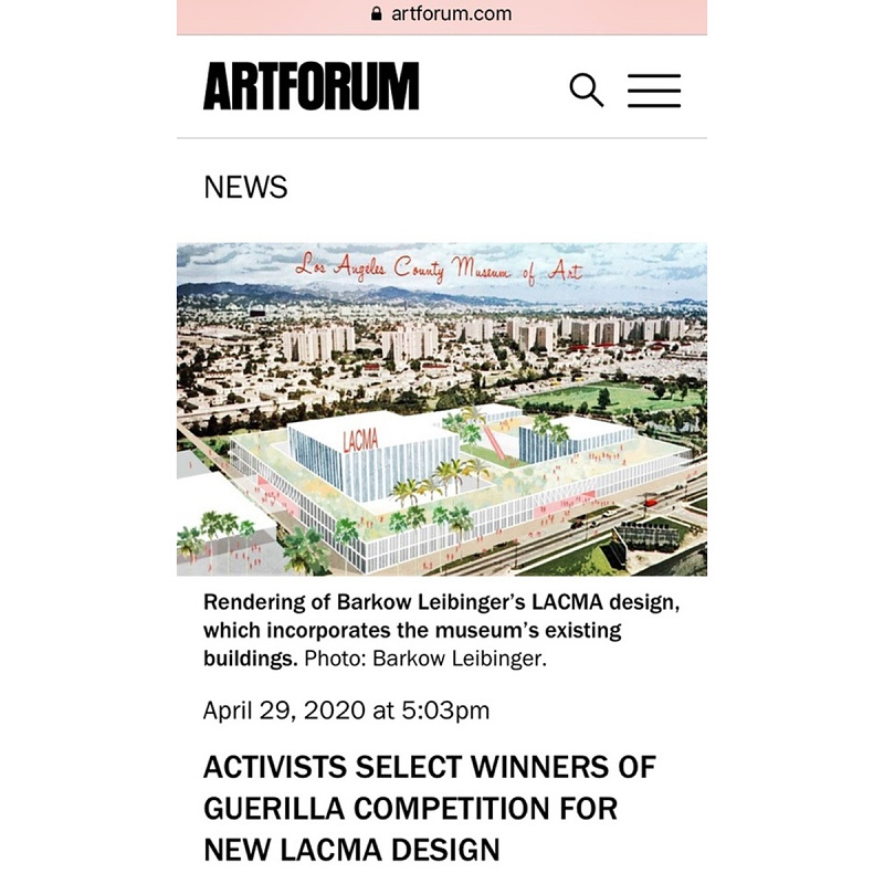 Artforum April 29, 2020