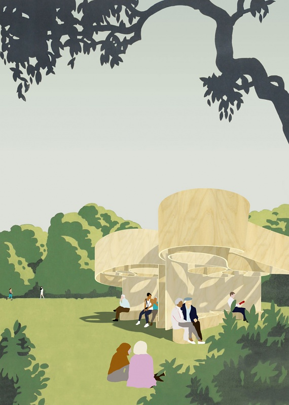 Serpentine reveals designs for Pavilion and the four Summer Houses