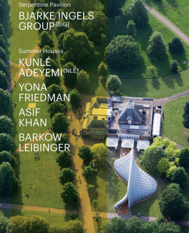 Serpentine Pavilion & Summer Houses 2016 Catalogue