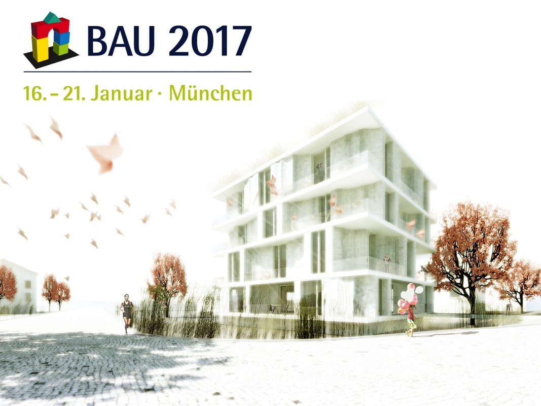 Regine Leibinger and Mike Schlaich at BAU 2017 in Munich
