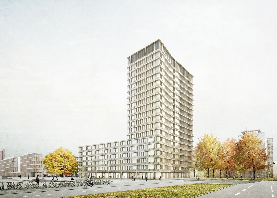 Invited Competition LVR-Hochhaus Köln - 3rd Prize