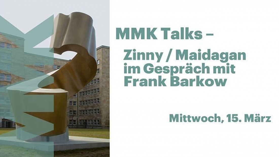 Frank Barkow in conversation with Zinny / Maidagan at the MMK Talks 2017 – Art and Body