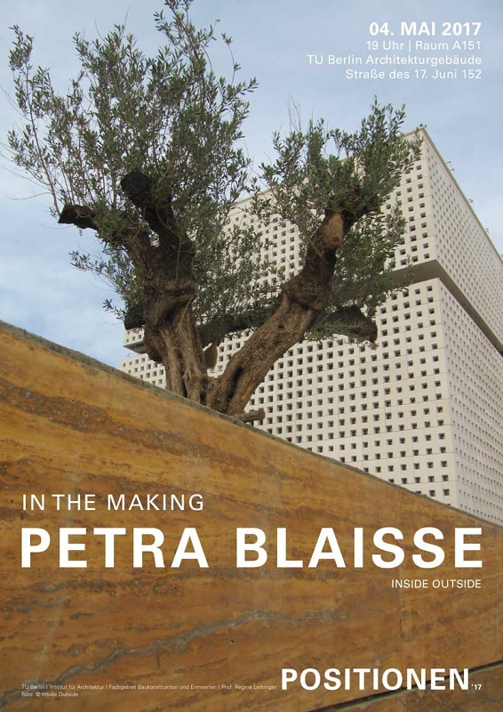 POSITIONEN Lecture at TU Berlin: Petra Blaisse
