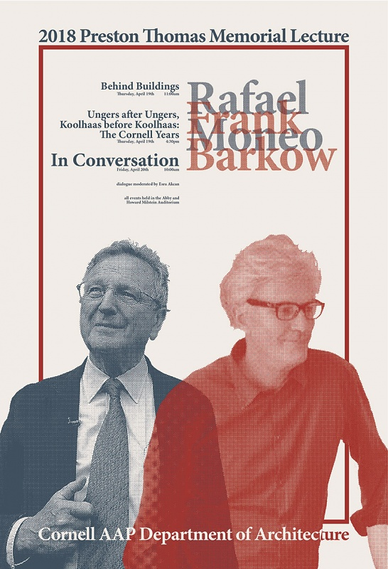 Rafael Moneo in conversation with Frank Barkow