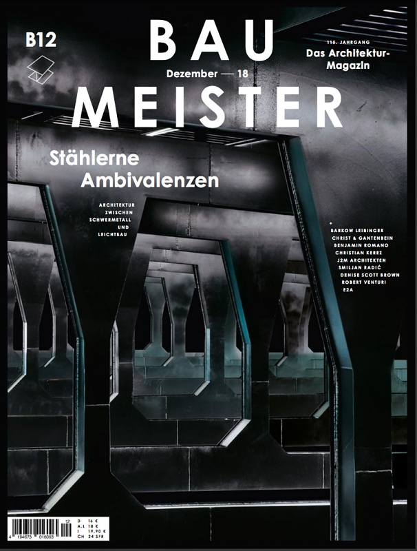Smart Factory on the Cover of Baumeister Magazine