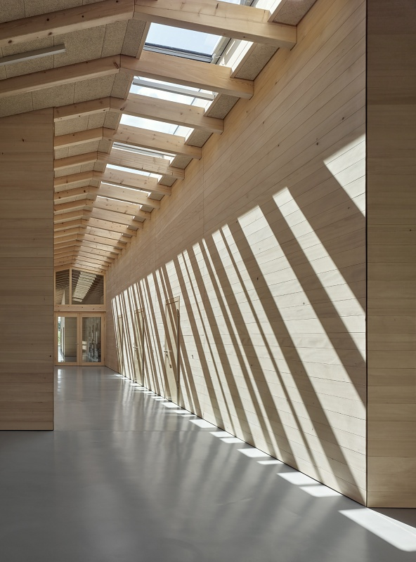 Wood Design and Building AWARDS for Trumpf Day-Care Center