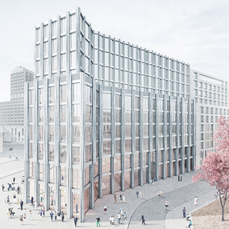 Invited Competition Leipziger Platz Berlin - 2nd Prize