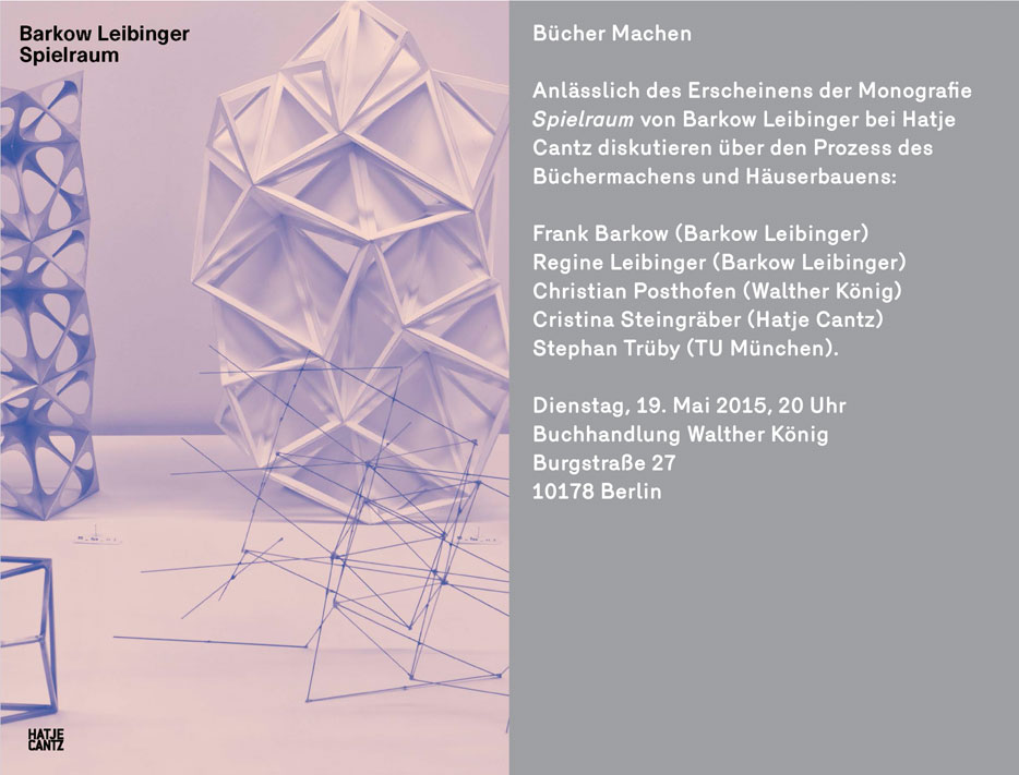 Bücher Machen - book launch and talk