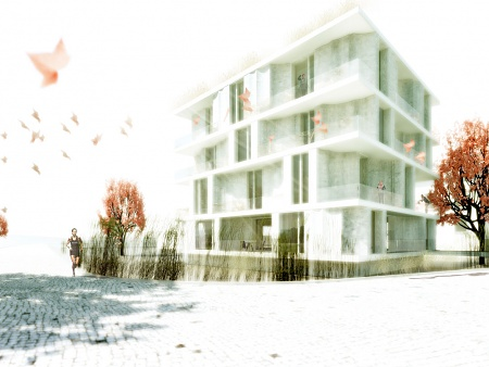Smart Material House (infra-lightweight concrete), IBA Hamburg