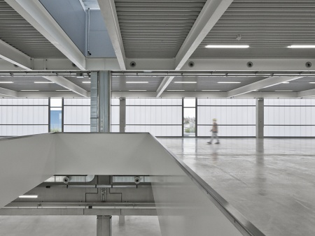 Fabrication Hall with Logistics Facility Uhlmann Pac-Systeme, Laupheim