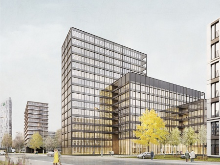 Planning Workshop Office Building Kapstadtring 5 Hamburg, 1st Prize