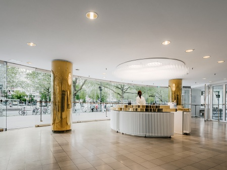 Reception area of the Schaubühne Berlin