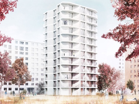WBM - Residential Tower of Infra-Lightweight Concrete